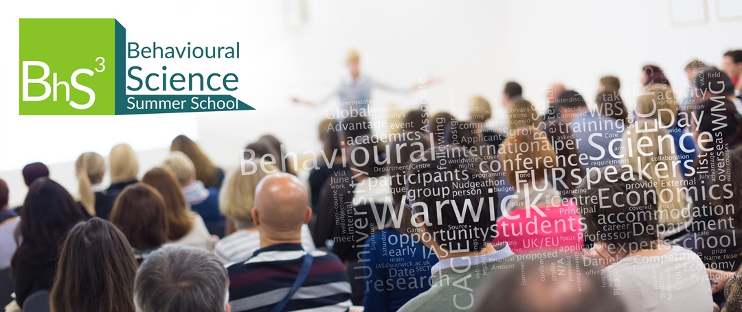 Behavioural Science Summer School